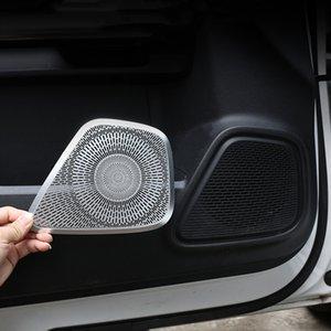 Araba Kapı Hoparlörler Çerçevesi Dekorasyon Kapak Çıkartmaları Mercedes Benz B Class W247 GLB 2020 Ses Hoparlör Trim çıkartması için