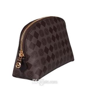 Дизайнерская сумка для макияжа холст окисляющий кожаный косметический чехол роскошный дизайнер оригинальный стиль с пылью сумка zippy туалетная сумка