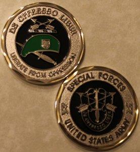 Trasporto libero 5pcs / lot, FORZE SPECIALI esercito degli Stati Uniti di liberare da Coin OPPRESSIONE