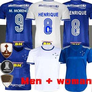 2020 년 크루 제 이루 축구 유니폼 (20) (21) 모레노 호비뉴 티아고 NEVES 축구 셔츠 크루 제 이루 홈 브라질 클럽 Camisas 여성