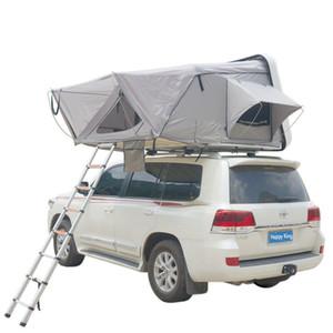 خيمة سقف السيارة الصلب شل سقف خيمة الأعلى هيدروليكية مزدوجة SUV خارج الطريق سيارة قابلة للطي التلقائي في الهواء الطلق التخييم السفر خيمة سقف السيارة