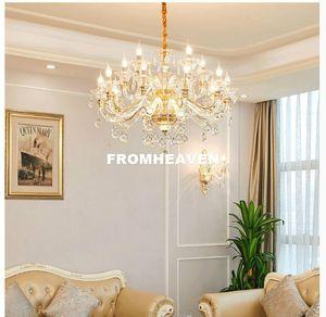 Newly Modern 2019 Newly Modern Crystal Chandelier Lights K9 Crystal Chandelier LED Living Room Lustre Sala de Jantar Cristal 100% Guaranteed