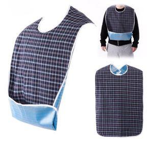 Wasserdichtes Adult Mealtime Lätzchen Kleidung Lätzchen Koch-Schutz-Tool Serviette