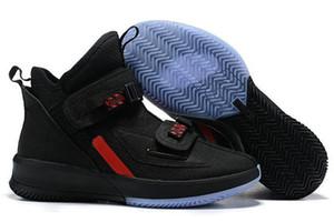 2019 Новое Прибытие Lebron Soldier 13 XIII мужская Баскетбольная Обувь для Высокого качества Черный Красный Белый Ice Blue Soldiers 13s Спорт US7-12