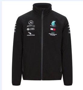 La nouvelle AMG Formula One F1 team 2020 étanche veste chaude veste / soft shell veste moto Équitation racing costume chandail chaud