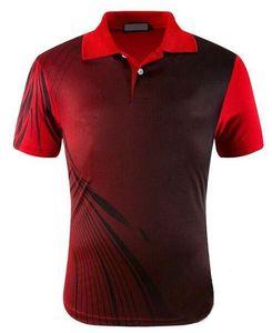 Fashion-Настольный теннис Спортивная рубашка из Джерси, дышащая быстросохнущая полиэстерная рубашка для бадминтона, пингпанг Спортивные теннисные футболки