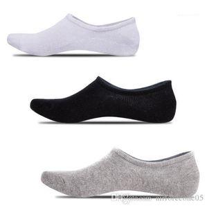 Silikon-Rutsch Männlich Kleidung Mens-Sommer-Designer Solid Color Socke Slipper lässig entspannt Mode Homme Unterwäsche
