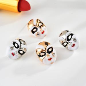 Lágrima pendientes de la manera caliente máscara facial joyería maquillaje Pendientes de S235