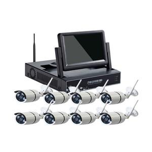 1080 HD P2P 8Ch ИК ночного видения водонепроницаемый беспроводной CCTV безопасности Wi-Fi IP-камера NVR комплект