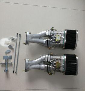 VW TİP 1 FAJS HPMX Weber IDF ÇİFT 44mm CARB KİTİ T1 uzun bağlantı KALİTELİ 44idf fajs empi için SherryBerg karbüratör karbonhidrat dönüşüm kiti