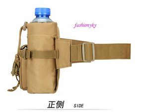 Hot sale Outdoor Vertical tactical waist bag multi-purpose Messenger Bag Travel cycling kit sports men's and women's water cup sets