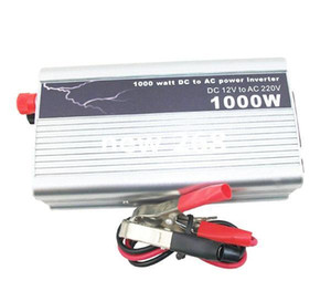 Freeshipping 1000W Car Power Inverter USB Converter Auto DC 12V To AC 220V - 240V Adapter Voltage Watt Charger