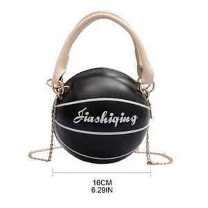 Women PU Leather Basketball Shaped Shoulder Crossbody Bag Tote Satchel Purse 517D