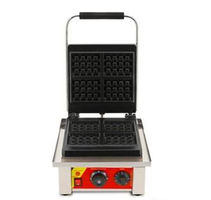 Ticari Kullanım 110 v 220 v Demir Döküm Beligan Waffle makinesi Elektrikli Brüksel Waffle Makinesi Baker kahvaltı Yapımı Pan
