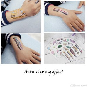 Water Transfer Tattoo Waterproof Temporary Tattoo for Kids Beauty Decals for Child Multiple Stickers for Baby by Vosaidi