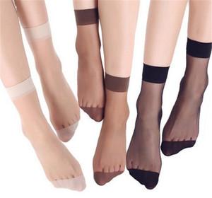 Aprilass Brand Designer estate bambù femminile calzini corti calzini da donna calze da donna cristallo sottile calzini di seta trasparente ragazza caviglia sexy calzino