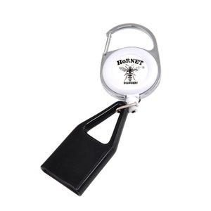 Portable Sticker silicone più leggero di copertura Avvolto Formato normale Porta Accendini manicotto della copertura della clip della catena chiave Porta Accendini Smoking Accessoires