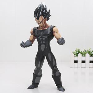 Las figuras 26cm de Dragon Ball Z Super Saiyan Goku Vegeta Gohan Msp Maestro Estrellas pieza Goku Chocolate Negro Pvc figura de acción de juguete