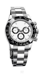 Montre De Luxe автоматические часы 40 мм керамические 316L стальной браслет складной сопротивление многоцветные мужские часы-прилив водонепроницаемый мужские часы