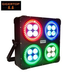 TIPTOP luce della fase 280W il nuovo disegno 16X12W 6in1 + 288X0.2W 5050 SMD 3in1 LED Wall Washer luce di controllo DMX512 18/81 canali LED