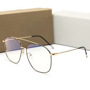 Erkekler ve kadınlar, kaliteli klasik lüks düzlem ayna Tasarımcı güneş gözlüğü, açık spor güneş kremi gözlük