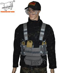 Mk3 Tactical Chest Rig mit Munitionstaschen 5,56 Magazine Tactical Kampfweste Jagd Chest Rig Cordura Nylon Tactical Vest Armee