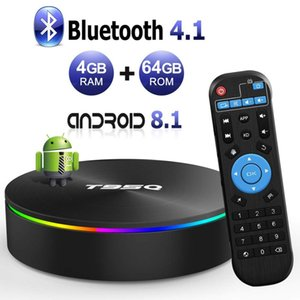 T95Q Android 8.1 OTT TV BOX Amlogic S905X2 Quad Core 4GB 32GB 64GB Dual Band Wifi 2.4G 5G Bluetooth 4.0