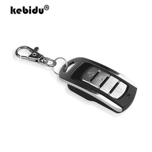 Cheap Controls ABCD Wireless RF Remote Control 433 MHz 433.92mhz Electric Gate Garage Door Remote Control KeyChain Controller with Battery