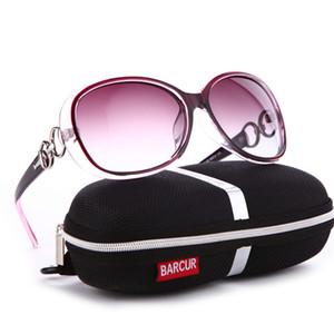 Barcur new óculos polarizados óculos de sol das mulheres designer de marca feminino óculos de sol do vintage gafas oculos de sol masculino c19041601