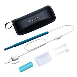 3 in 1 OTG Visuelle Ohrreinigung Endoskop Diagnosewerkzeug Ohr Reiniger Android Kamera Ohr Pick 2M Linien