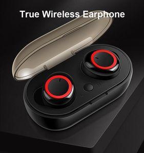 2020 Preço de fábrica Invisible touch Fone de ouvido chamadas auscultadores sem fios Bluetooth 5.0 TWS Earbud cancelamento de ruído com microfone para android iphone