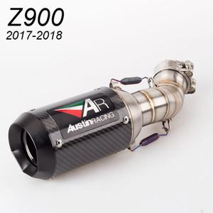 Moto Z900 marmitta modificata tubo di scarico Z900 AR terminale di scarico di scarico Z900 SC