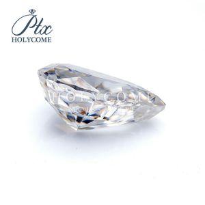 d белого цвета колотого льда груша вырезать синтетические Moissanite сыпучих алмазов драгоценных камни оптовые цены на ювелирные изделия makingvvs ясности