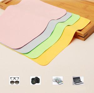 5 teile / lose Hohe qualität Chamois Brillenreiniger 150 * 175mm Mikrofaser Brillenputztuch Für Objektiv Telefon Bildschirm Reinigungstücher