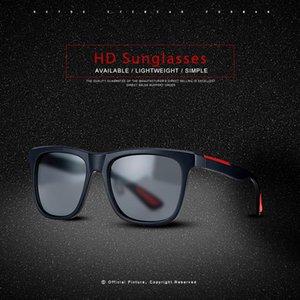 Brand Design Men Polarized Sunglasses Women Driver Shades Male Vintage Sun Glasses For Men Spuare Mirror Summer UV400 Oculos