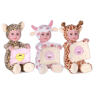 Doll peluche peluche di simulazione Peekaboo Animated Talking Canto Toy