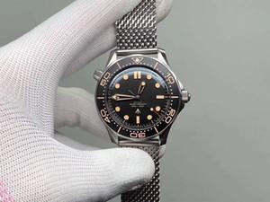 2020 Time to Die Luxus-Mannuhr Limited Edition Skyfall Herren Meister James Bond 007 Diver 300M Uhr 50 Designer Stahlband Armbanduhr