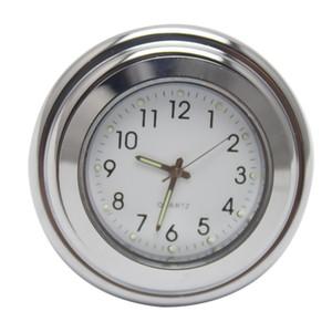 Livraison gratuite moto universelle 22mm-25mm résistant à l'eau résistant aux chocs Guidon Mont Mount Clock Watch
