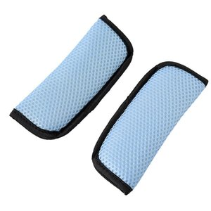 1 Pair For Baby Stroller Wear Resistant Child Safety Decorative Car Seat Belt Cover Easy Install Strap Pad Shoulder Protect Soft
