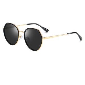 Lunettes de soleil polygone de haute qualité pour enfants UV400 marque designer lunettes de soleil pour enfants cadre doré lunettes de soleil pour enfants lunettes à six pans