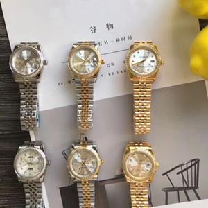 36мм Марка Часы Unisex высокого качества автоматические механические часы из нержавеющей стали Складной пряжка Мужские швейцарские часы для женщин Модные часы