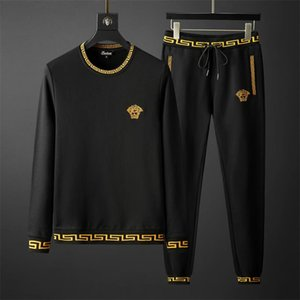 Hot Verkauf Männer Sportbekleidung europäischen und amerikanischen Sweatshirts Herbst-Winter-Jogger luxuriöse Herren sweatsuits Tracksuits Männchen Kleidung