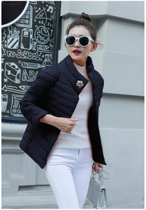 2019 New Spring Stylish Of Crystal Flowers Collection Windproof Womens Parka Coat Female Winter Jacket Coat Quilted Coat