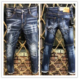 2019, die neue marke fashion europäische und amerikanische sommer männer tragen jeans männer lässige jeans 905