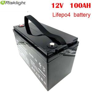 12.8V batterie LiFePO4 12V 100Ah Lithium ion batterie pour RV Système solaire Yacht voiturettes de golf