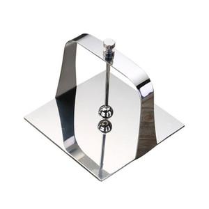 Dell'acciaio inossidabile del quadrato di carta triangolare Holder portasciugamani Ristorante Vertical tovagliolo clip pranzo Decorazione della tavola