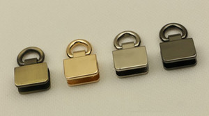 Metal Bag Side Clip Buckles Handbag Strap Clasp Screw Handles Chain Hook Connector Bag Hanger Hardware Accessories