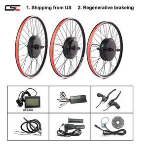 미국 브러시리스 비 기어 허브 모터 뒷 바퀴 (26) ''27.5 ''28 ''29 ''700C 전기 자전거 변환 키트 1000W 1500W ebike 키트 무료 배송