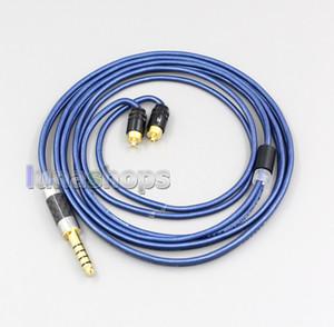 Bleu 99% XLR Pure Silver 3,5 mm 2,5 mm 4.4mm écouteurs Câble USB pour Sony-M7 REI REI-M9-REI Z1R LN006474