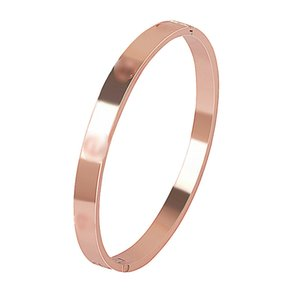 Kajia eternal Ring 18k rose gold alloy bracelet, Korean screw couple one word jewelry wholesale Bracelet